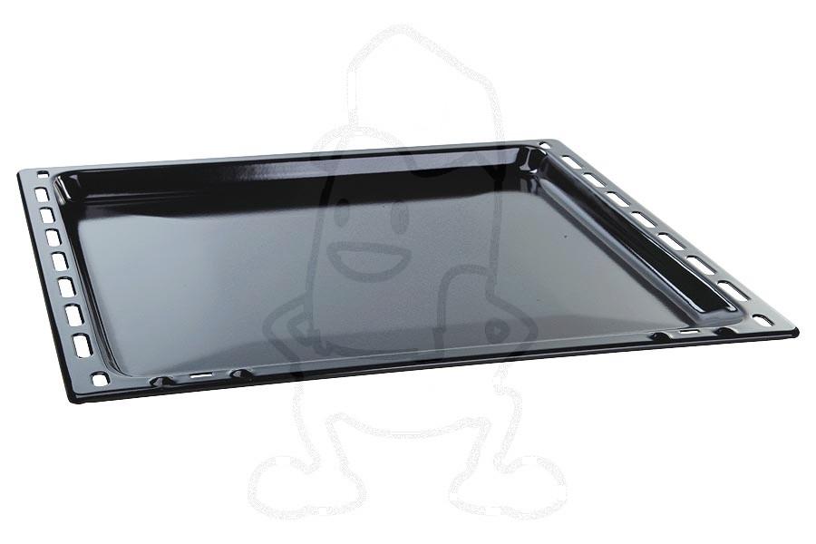 Image of Bakplaat (geemailleerd, Zwart, 422x370x20mm) oven 3423981061