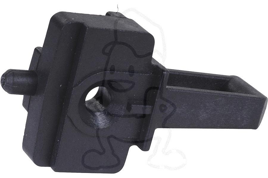 Image of Deurhaak (van magnetron, zwart) C00138780, 138780