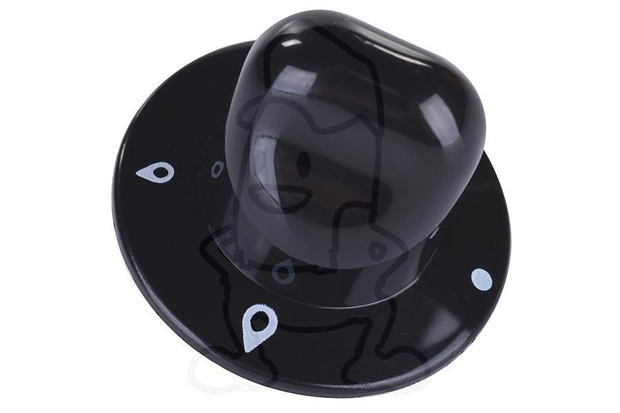 Image of Knop (Gasknop -zwart-) C00074392, 74392
