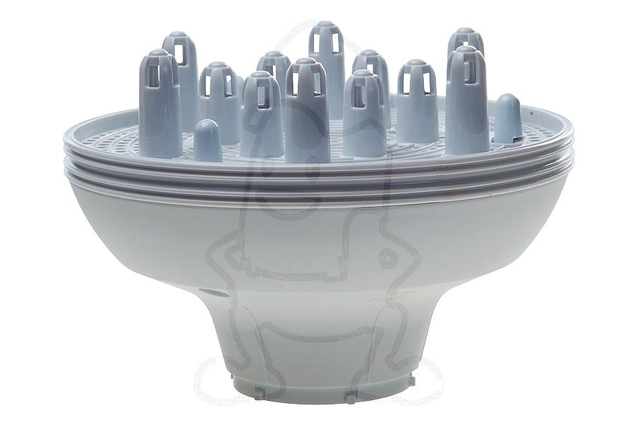 Braun diffuser (opzetstuk wit) fohn 67010174