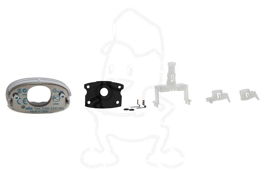 Image of Bevestigingsset (voor scheerkophouder) scheerapparaat 67030400