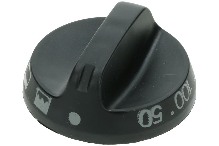 Image of Knop (Van oven standen+gram zwart) 38602675