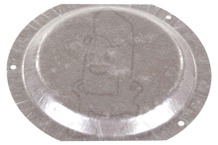Miele micaplaat (met 3 gaatjes 168x149) 4807410