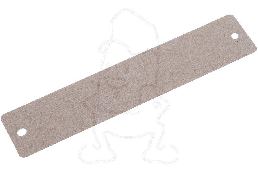 Micaplaat (160x28mm met gaatjes) 481944238914