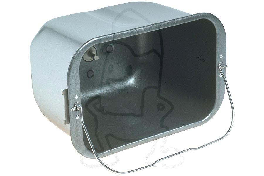 Inventum bakblik (broodblik 14x19x13 cm) broodbakmachine 71ry11073a