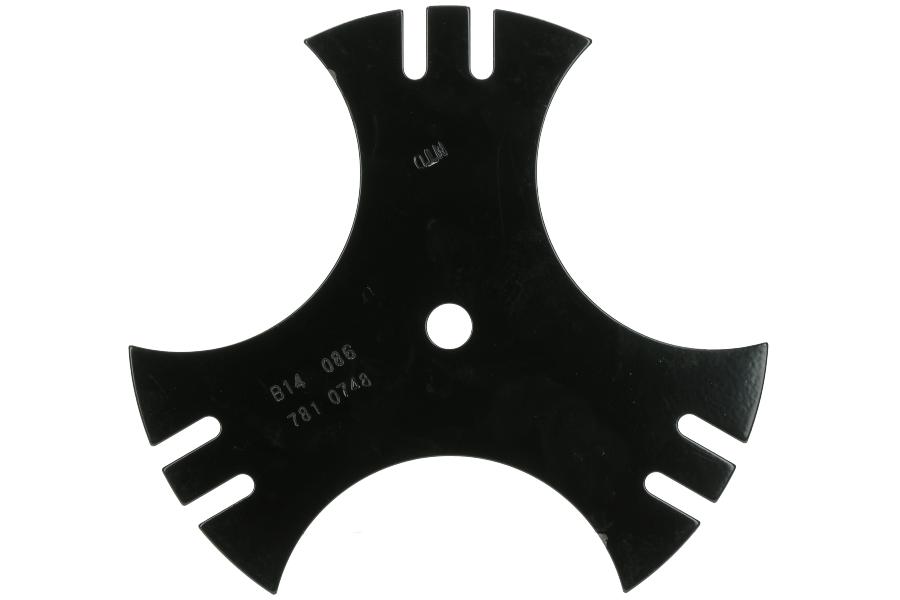 Kantensnijder mes 23 cm voor bosmaaier 1112-M6-0001