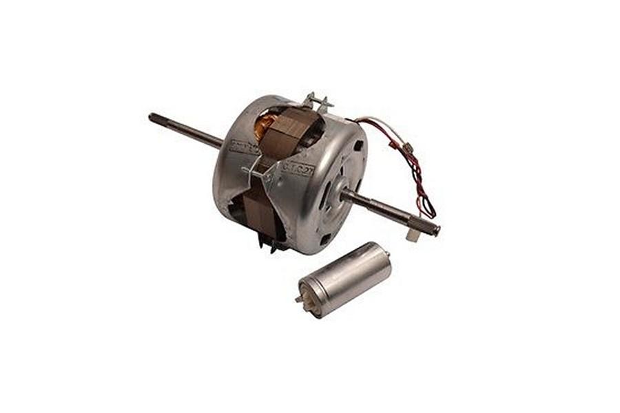 Motor met condensator voor wasdroger C00306348