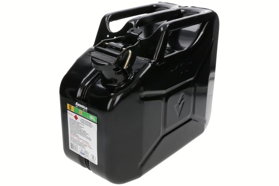 Metalen jerrycan (10L, zwart) 6011-X1-2001