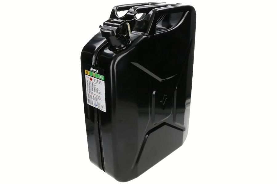 Metalen jerrycan (20L, zwart) 6011-X1-2002