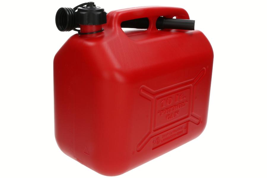 Brandstofjerrycan (10 L, rood) 6011-X1-7004