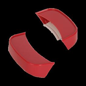 2 rode handvatten SS-193781