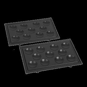 Set poffertjesplaten voor tosti-maker TS-01016100