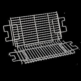 Bakrooster (2 stuks) barbecue TS-01020880