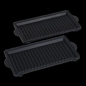 Set grillplaten voor tosti-maker TS-01034850
