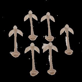 Zuigflessenhouders (6 stuks) TS-07010130