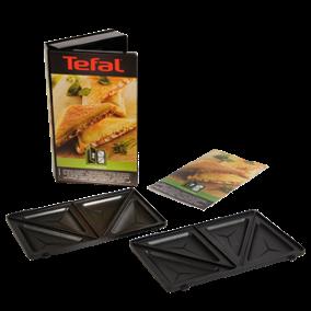 Croque-monsieurkoffertje met driehoekige platen snack-collection XA800212