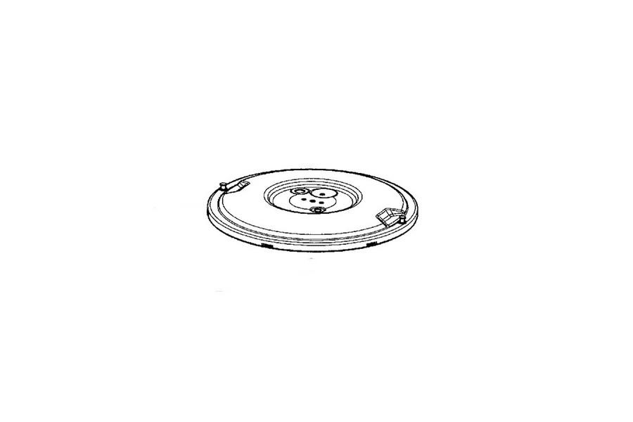 Seb deksel + 2 schroeven voor snelkookpan SS-980401
