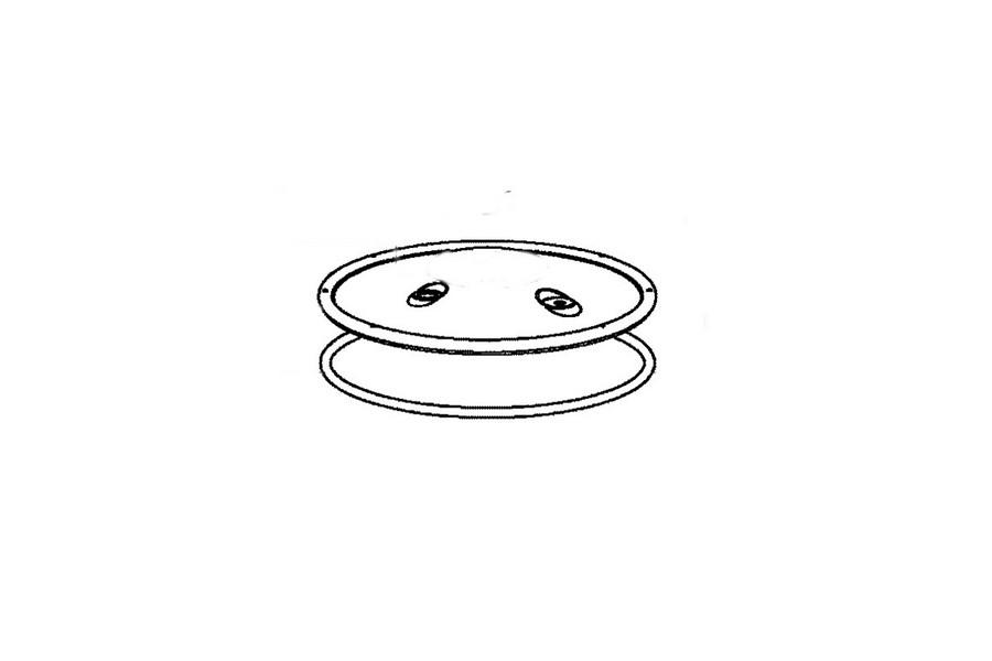 Seb deksel + afdichting voor snelkookpan SS-980556