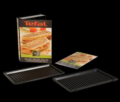 Set grillplaten panini voor tosti-maker XA800112