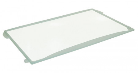 Glasplaat (470x310mm met strip) koelkast 481245088214
