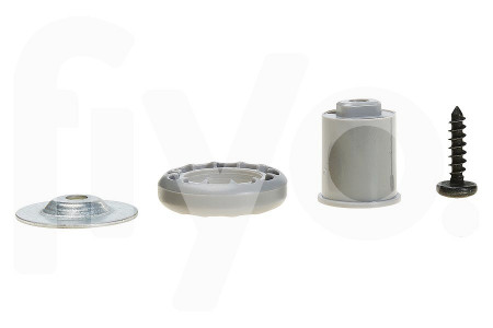 Wieltje (geleider) onderkorf (rek) vaatwasser 00188096