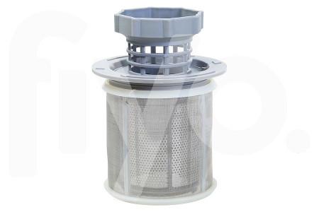 Vuilfilter (zeef) fijn kunststof + metaal vaatwasser 00427903