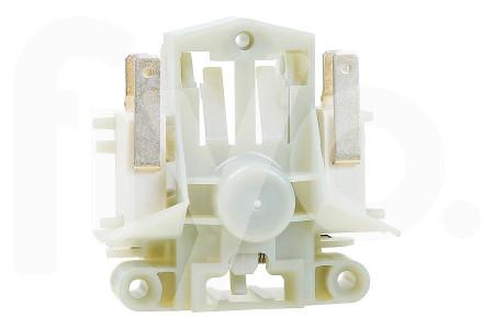 Deurvergrending (slot) mechanisch incl. dubbele schakelaar 4 contacten 71x37x69mm vaatwasser 385849