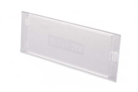 Glaasje (Van lamp - 145x55mm) afzuigkap 482000008453