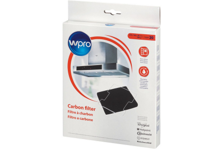 WPRO koolstoffilter voor afzuigkap 480181700586, CWF020/1, DKF43