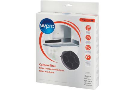 WPRO CHF28 koolstoffilter voor afzuigkap 484000008576