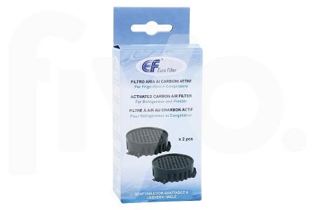 Koolstoffilter (geurfilter) Fresh Air voor Liebherr 2 stuks 740006-00 koelkast 9881116