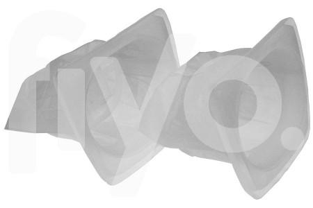 Stofzuigerzakken (stofzakken) 2 stuks voor Black & Decker HC 410, HC 420, HC 435 kruimeldief (kruimelzuiger)