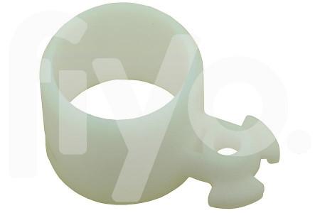 Miele losse nylon lager (bus) van achterwiel wit 24x37x21mm stofzuiger 2118190