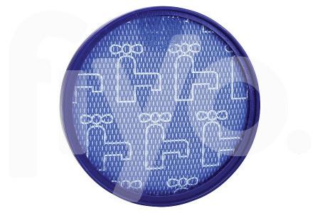 Pre-filter (uitblaasfilter, uitlaatfilter) voor Dyson DC25 uitwasbaar blauw  stofzuiger 91917102, 919171-02