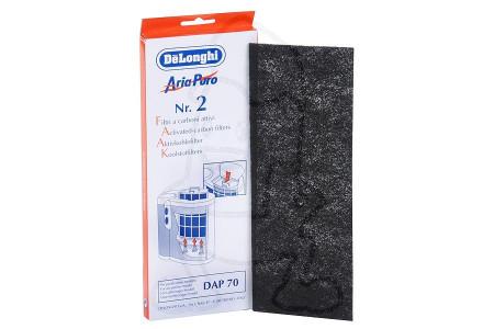 Filter (Koolstoffilter 263x95mm) 5537000100