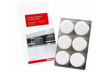 Miele ontkalkingstabletten (entkalkungstabletten, descaling tablets, antikalktabletten, ontkalk) 6 stuks koffiemachine / stoomoven 10178330