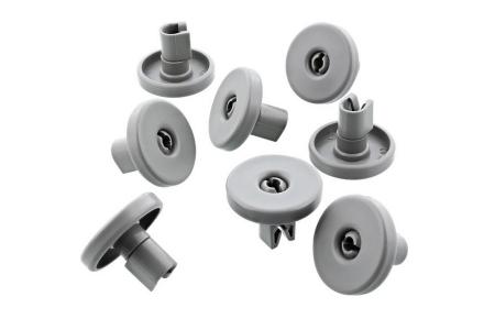 Fiyo wieltjes (wielset, korfwiel) vaatwasser (afwasmachine, vaatwas) 152.577 02 onderkorf (onderrek) 8 stuks 50286965004