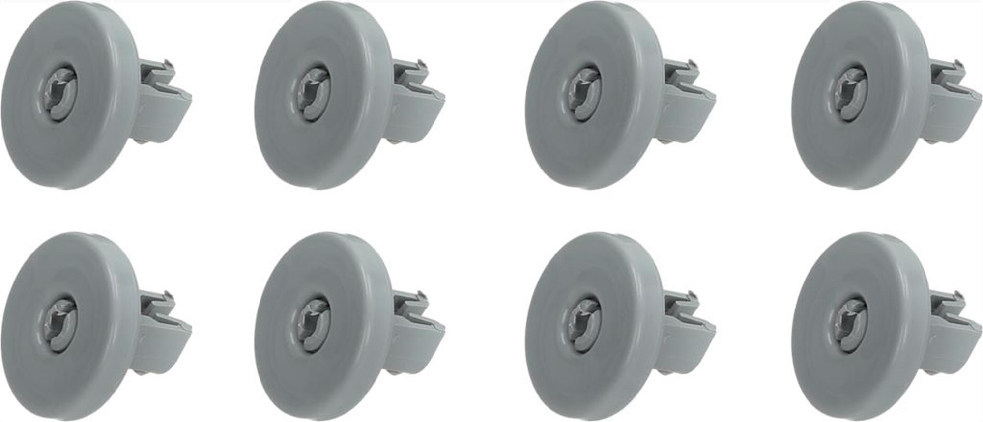 Ravizo wieltjes voor onderkorf Aeg, Electrolux, Zanussi vaatwasser 50286965004, 50269748005