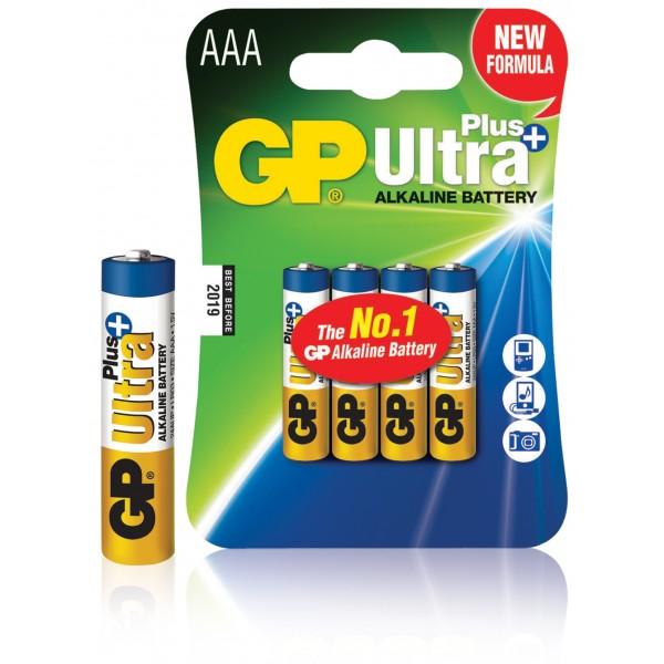 Gp Batterij AAA - Verpakking van 4 Stuks - Alkaline 1.5 Volt