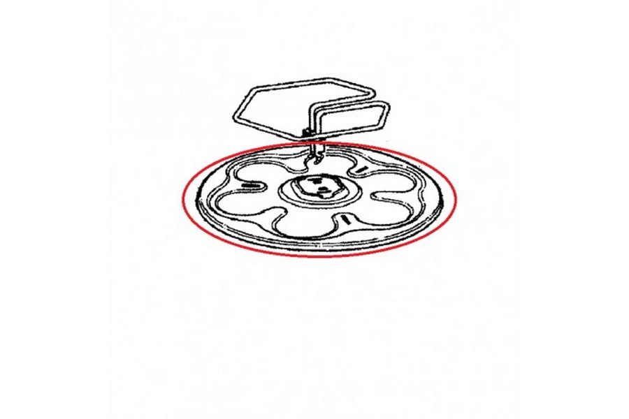Tefal reflector voor gourmetstel TS-17921020